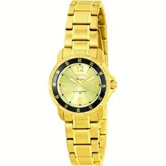 Invicta Women's Angel 0550 Gold Stainless-Steel Swiss Quartz Fashion Watch