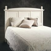 Sauder Harbor View Full / Queen Headboard with Antiqued White Finish