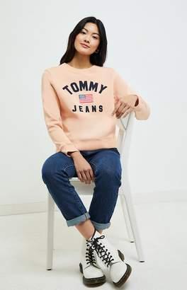 Tommy Jeans Americana Crew Neck Sweatshirt