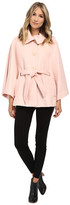 Jessica Simpson Boucle Cape with Envelope Collar