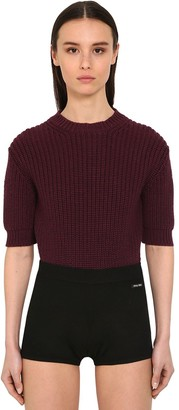 Miu Miu Virgin Wool Knit Sweater