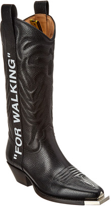 Off-White For Walking Leather Boot