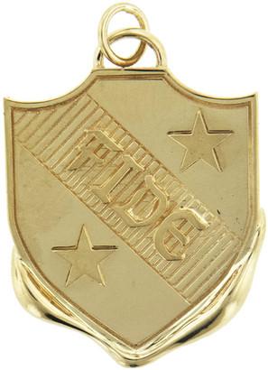 Foundrae FIDE Vestige Crest - Yellow Gold