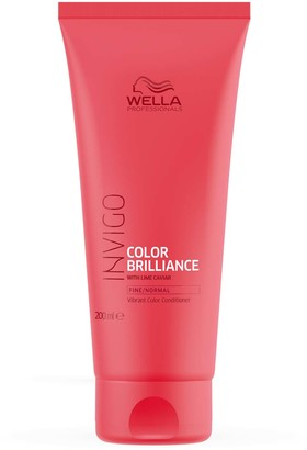 Wella Professionals Invigo Color Brilliance Vibrant Color Conditioner - Fine 200Ml