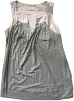 Stella Forest Grey Cotton Top for Women