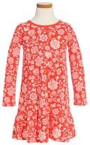 Tea Collection Toddler Girl's Holly Drop Waist Dress