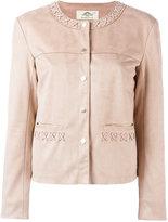 Urban Code Urbancode - stitched detail jacket - women - Polyester - 8