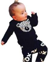 PAPAkid® Infant Newborn Babywear Cotton Tops Shirt + Pants Crawling Suit