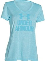 Under Armour Women's Tech V-Neck - Twist Logo