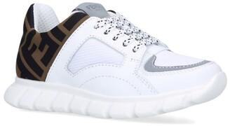 Fendi Kids FF Lace-Up Sneakers