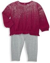 Splendid Baby's & Little Girl's 2-Piece Glitter Top & Leggings Set