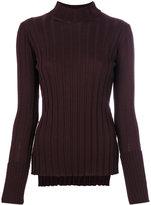 Theory wide rib turtleneck sweater