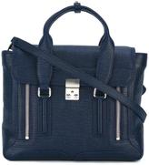 3.1 Phillip Lim medium Pashli satchel - women - Cotton/Calf Leather - One Size