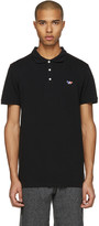 MAISON KITSUNÉ Black Fox Patch Polo