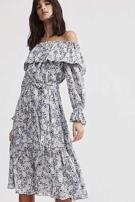 Witchery Off Shoulder Midi Dress