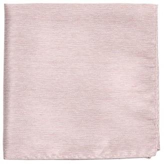 MUMU Weddings - Desert Solid Neutral Mauve Pocket Square
