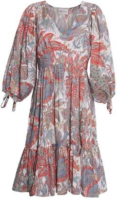 Cara Cara Millbrook Printed Paisley Dress