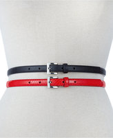 Style&Co. 2 for 1 Skinny Lizard Belt