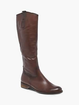 Gabor Brook Medium Fit Low Block Heel Knee Boots