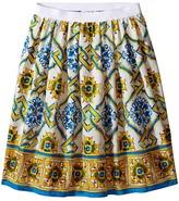 Dolce & Gabbana Medallion Print Skirt (Big Kids)