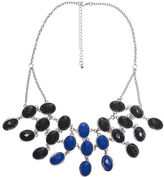 Arden B Colorblocked Faceted Stone Necklace