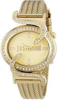 Just Cavalli Women's R7253591501 Sin Stainless steel Band Watch.