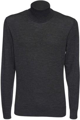 Dolce & Gabbana Fine Wool Knit Turtleneck Sweater