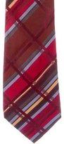 Burton Burberry London Plaid Silk Tie