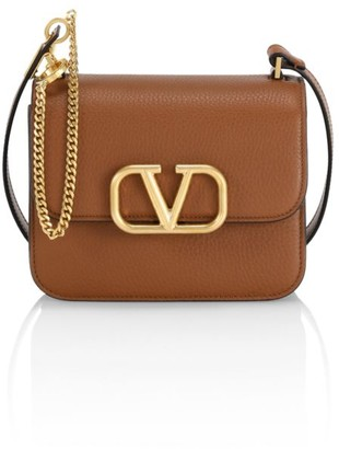 Valentino Small VSling Leather Crossbody Bag