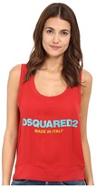 DSQUARED2 Helen Sleeveless Top