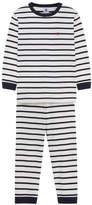 Petit Bateau Striped two-piece pyjamas