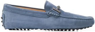 Tod's City Gommino suede loafers