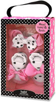 Baby Essentials Girls Bow and Sock Set - Pink Dot