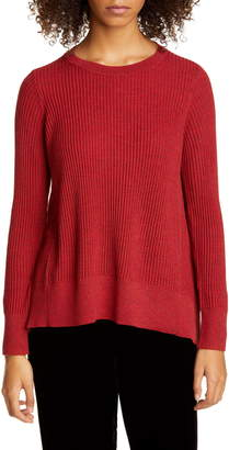 Eileen Fisher High/Low Oversize Sweater