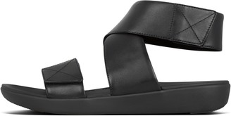FitFlop Carin Leather Back-Strap Sandals