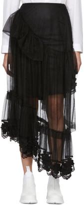MONCLER GENIUS 4 Moncler Simone Rocha Black Tulle Skirt
