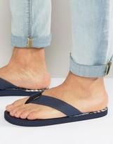 O'neill Imprint Pattern Flip Flops