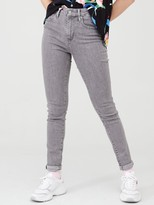 Levi's 721 High Rise Skinny Jean - Set In Stone Grey