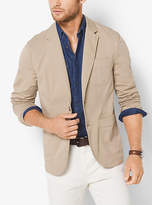 Michael Kors Cotton-Twill Blazer