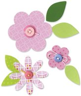 Dena Sizzix Bigz Die Flower Layers and Leaves by Designs, Multi-Colour