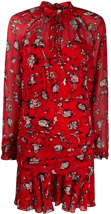 Veronica Beard Alena floral-print dress