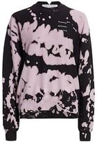 Proenza Schouler White Label Tie-Dye Logo Sweatshirt