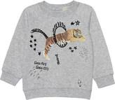 Stella McCartney Billy Whatever tiger cotton jumper 6-24 months