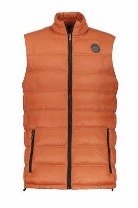 JP 1880 Men's Big & Tall Quilted Vest Rust XX-Large 723304 64-XXL