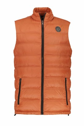 JP 1880 Men's Big & Tall Quilted Vest Rust XXXXX-Large 723304 64-5XL