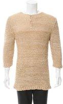 Loewe Silk Long Hemline Sweater