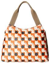 Orla Kiely Poppy Cat Print Zip Shoulder