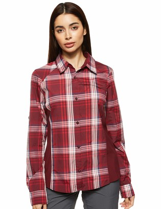 Columbia Women's Silver Ridge Plaid II Long Sleeve Shirt