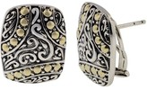Effy Jewelry Effy 925 Sterling Silver and 18K Gold Earrings