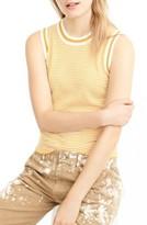 J.Crew Women's Jackie Stripe Cotton Shell